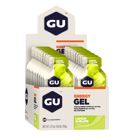 GU Energy Gel Box Lemon Sublime 24x 32g